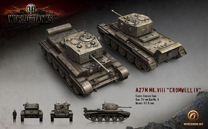 World of Tanks' 8.1 patch to feature British heavy armor