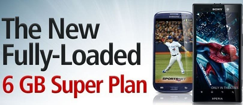 Rogers offers 6GB Super Plan, guarantees that Galaxy S III will stay busy