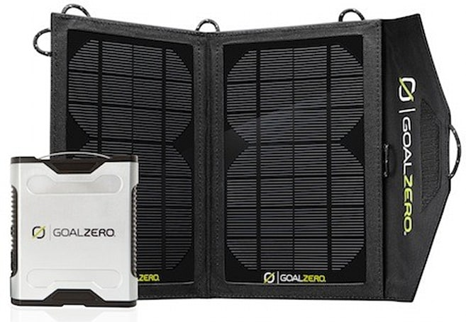 Goal Zero's Solar Chargers light up the Outdoor Retailer show