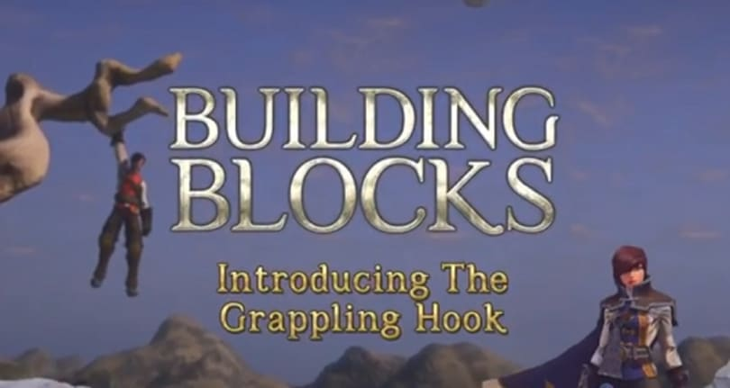 EverQuest Next Landmark shows the awesomeness of the grappling hook