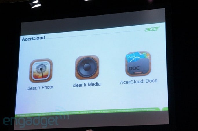 AcerCloud unveiled, bringing free cloud connectivity to all future Acer PCs
