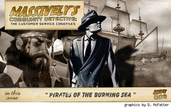 Community Detective, Issue #9: Pirates of the Burning Sea