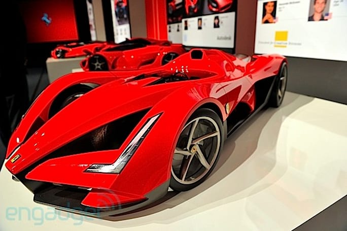 Engadget previews Ferrari's future hypercars at the World Design Contest (video)