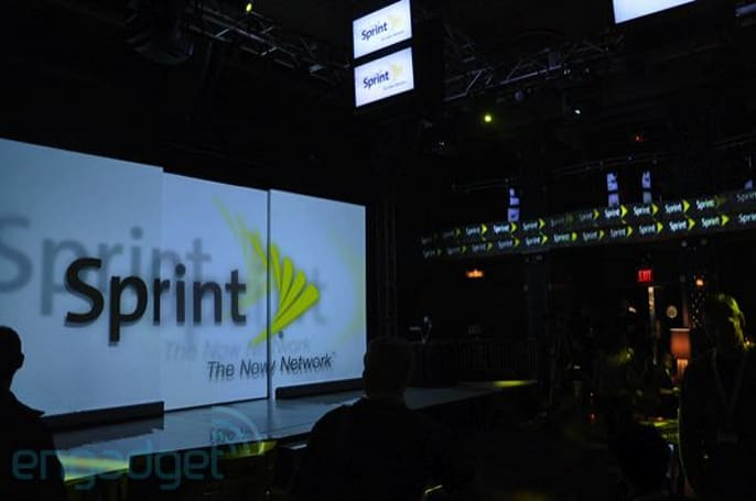 Live from Sprint's 'Industry First' event with Dan Hesse and... David Blaine