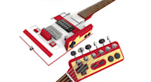 Famicom electric guitar gives the NES Paul a run for its money