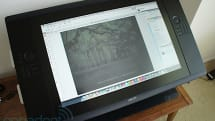 Wacom Cintiq 24HD touch review: the pen-enabled display tacks on multi-touch gestures
