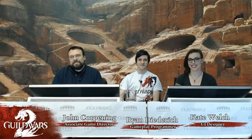 ANet answers community questions on GW2 Feature Pack livestream