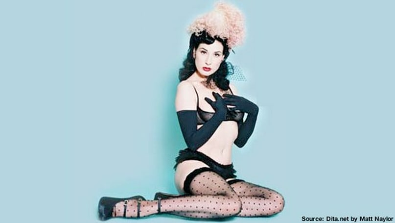PSN Thursday: 'Braid' Dita Von Teese's hair