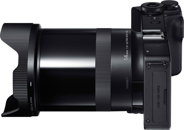 Sigma makes a super wide-angle version of its super wide camera