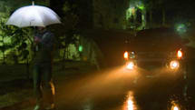 LightDrops umbrella classes up your act, generates electricity