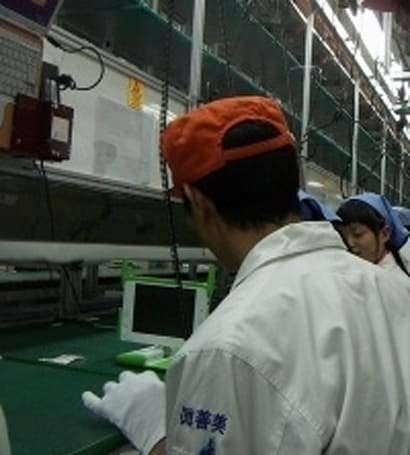 OLPC production line nearly ready after getting 3 million orders?