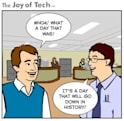 Perspective, courtesy of Joy of Tech