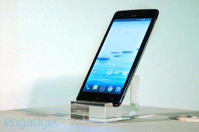 New Acer smartphone, tablet appear ahead of Computex press conference