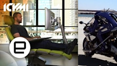 ICYMI: Humanoid moto bot, engineered desk marvel and more