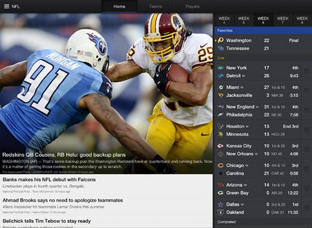 Yahoo Sports app for iOS updated with MMA coverage and host of other enhancements