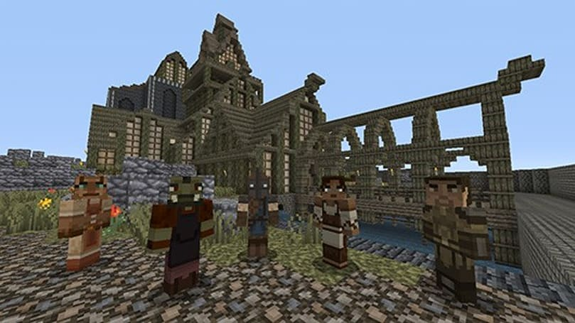 Minecraft Xbox 360 digs up Skyrim-themed DLC