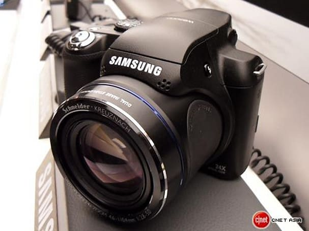 Samsung's upcoming WB5000 24x zoomer shoots RAW photos and HD video