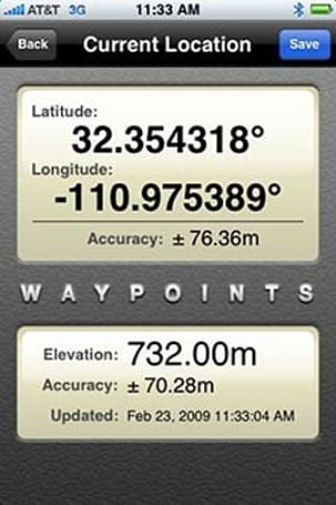 Waypoints: Another way to see where you've been