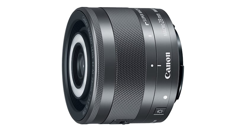 Canon's latest EOS M lens has a built-in ring flash
