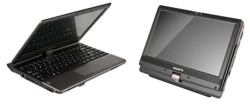Gigabyte updates its netvertible range with the 11.6-inch Booktop T1132