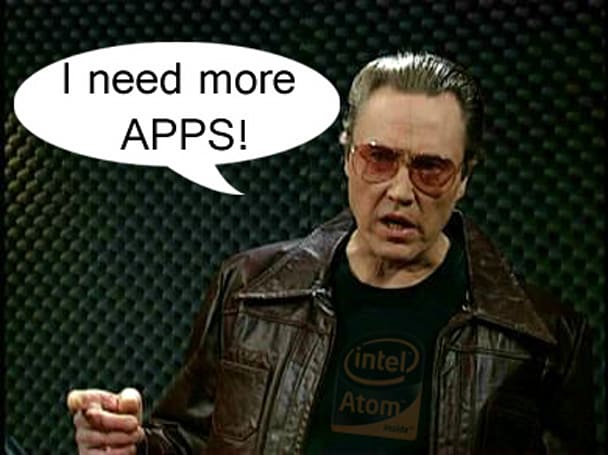 Intel brings out Atom SDK wanting more apps, acts oblivious to Windows