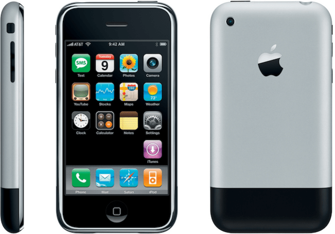 The iPhone turns 7 on Sunday, here's a look back at a classic