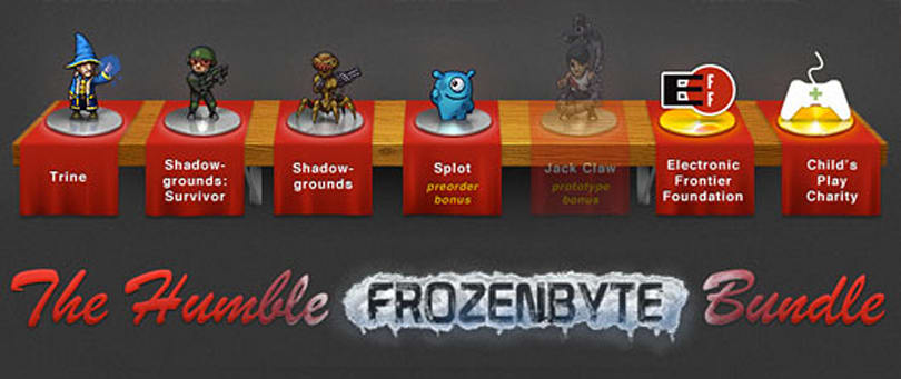 New Humble Bundle features Frozenbyte games and prototype