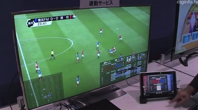 NHK working on Hybridcast interactive TV platform (video)
