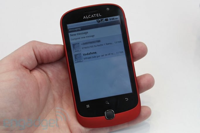 Alcatel Onetouch lineup hands-on