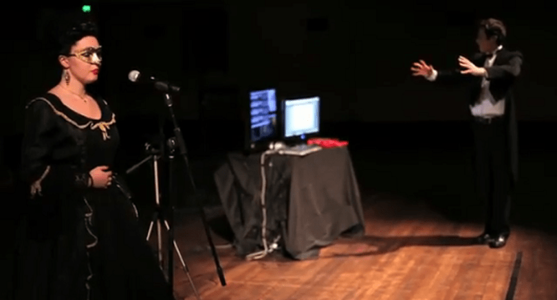 This dude can control a pipe organ using Kinect [Update]