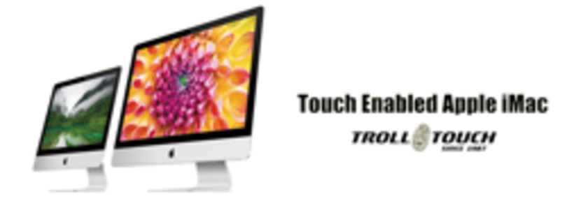 Troll Touch readies touch screens for slim iMacs