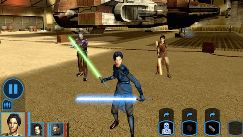 The best 'Star Wars' role-playing game is finally on Android