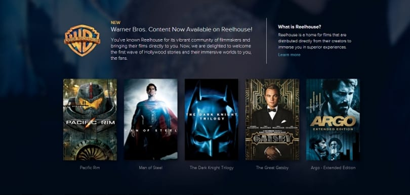 Reelhouse offers expanded bonus materials for digital Warner Bros. movies