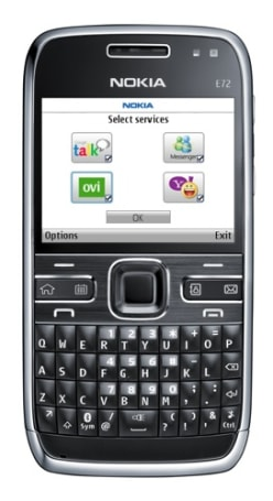Nokia E72 in stores now, somewhere