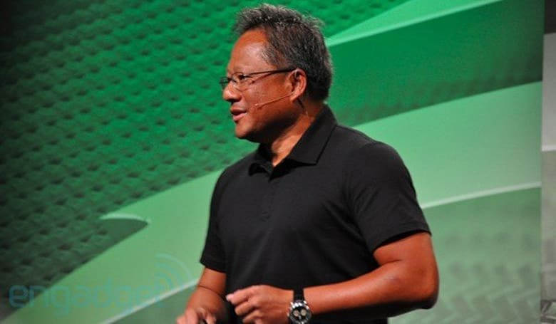NVIDIA CEO disappointed by Android tablet sales, blames pricing and poor app selection