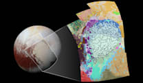 NASA maps part of Pluto's complex terrain