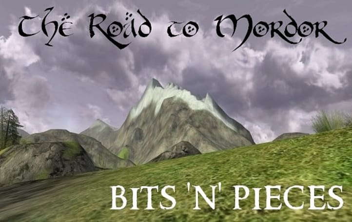 The Road to Mordor: Bits 'n' pieces