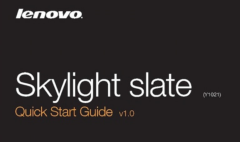 Lenovo Skylight slate hits the FCC, no longer the LePad?