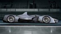 フォーミュラE、40kg軽い次世代マシンSRT-05Eコンセプト公開。改良バッテリーでレース中の乗換えも廃止へ