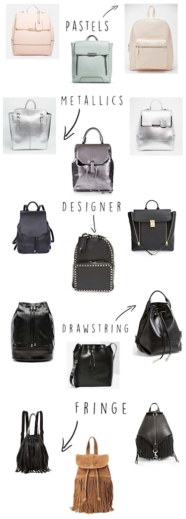 Trend report: The backpack is back!