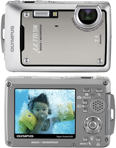Olympus' Stylus (Mju) 760 and 770SW all weather and underwater ...