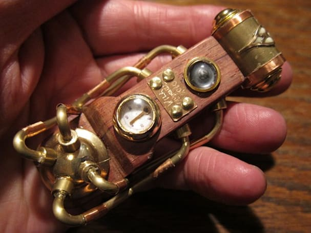 'The Collective' steampunk USB drive is the stocking stuffer Jules Verne always wanted