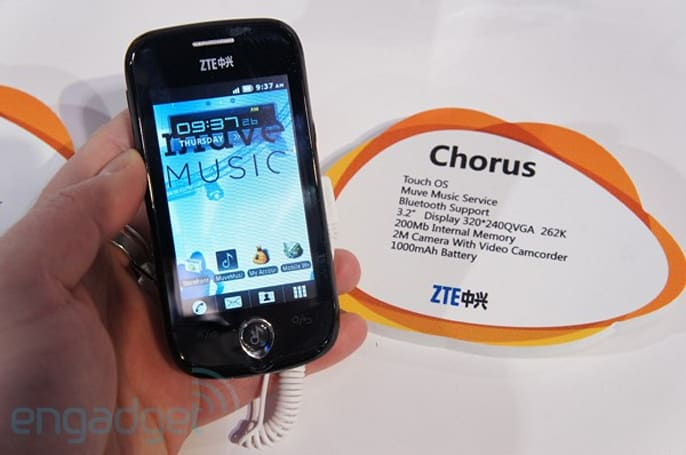Cricket's ZTE Chorus hands-on