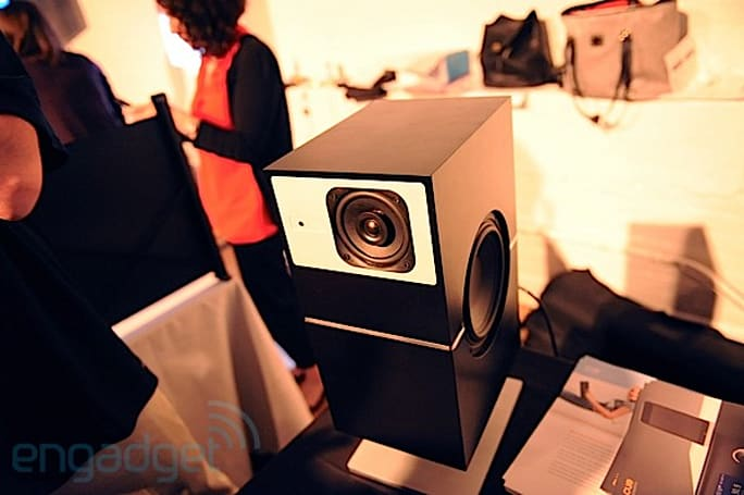 Cue Acoustics PS1 wireless speakers do audio over DLNA, we go hands-on