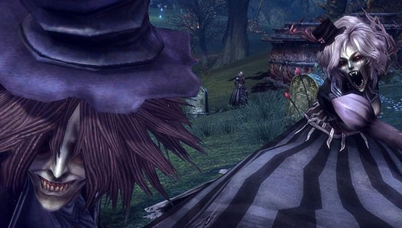 TERA shows off scary vampires