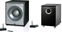 Infinity and JBL's PS212W and CSS10W wireless subwoofers