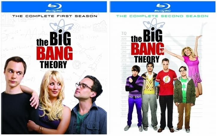 The Big Bang Theory S1 and S2 will finally hit Blu-ray July 10th
