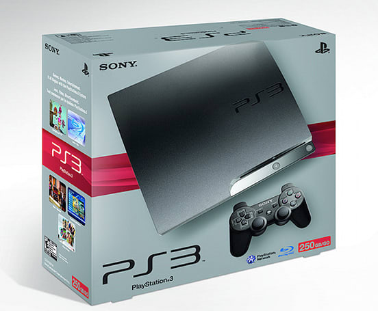250GB PlayStation 3 Slim coming to US November 3rd