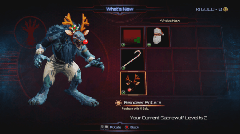 Deliver season's beatings via Killer Instinct Classic's new online multiplayer mode