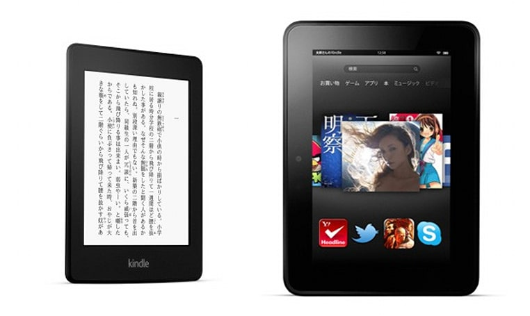 Kindle Paperwhite and two Fires up for pre-order in Japan, Kindle Store opens there tomorrow